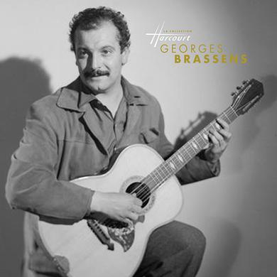 Georges Brassens LA COLLECTION HARCOURT Vinyl Record