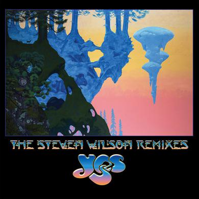 Yes STEVEN WILSON REMIXES Vinyl Record