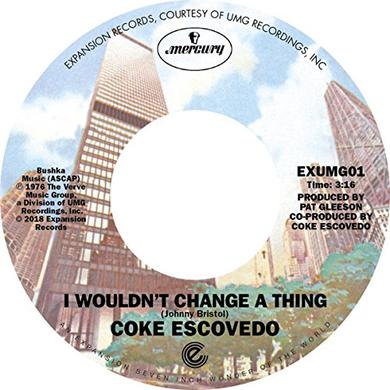 Coke Escovedo I WON'T CHANGE A THING / REBIRTH Vinyl Record