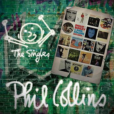 Phil Collins SINGLES Vinyl Record