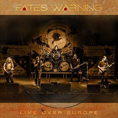 Fates Warning LIVE OVER EUROPE Vinyl Record