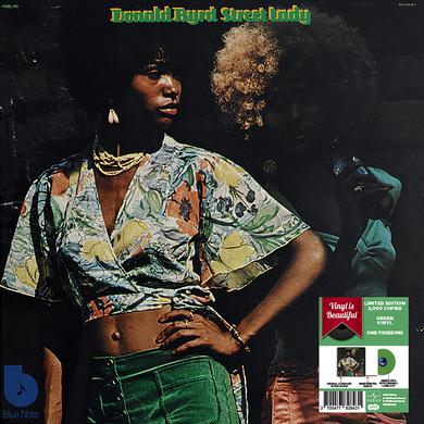 Donald Byrd STREET LADY - GREEN VINYL GATEFOLD JACKET 2018 Vinyl Record