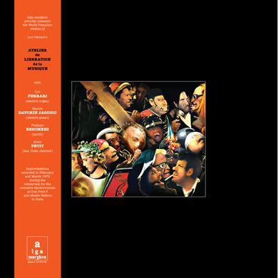Luc Ferrari ATELIER DE LIBERATION DE LA MUSIQUE Vinyl Record