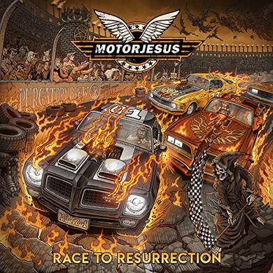 Motorjesus RACE TO RESURRECTION Vinyl Record
