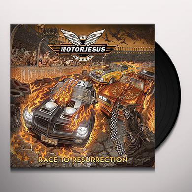 Motorjesus RACE TO RESURRECTION Vinyl Record