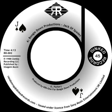 Boogie Down Productions JACK OF SPADES / INSTRUMENTAL Vinyl Record