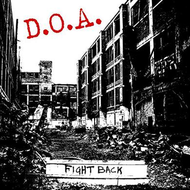 Doa FIGHT BACK Vinyl Record