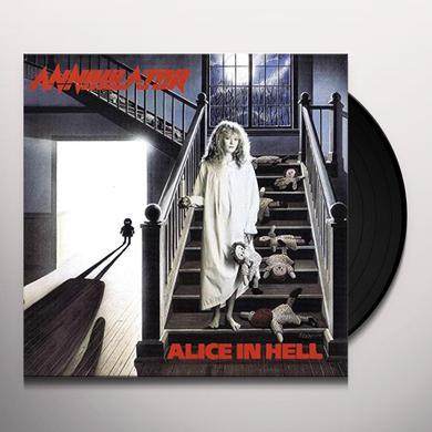 Annihilator ALICE IN HELL Vinyl Record