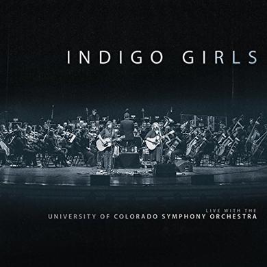 INDIGO GIRLS LIVE WITH THE UNIVERSITY OF COLORADO Vinyl Record