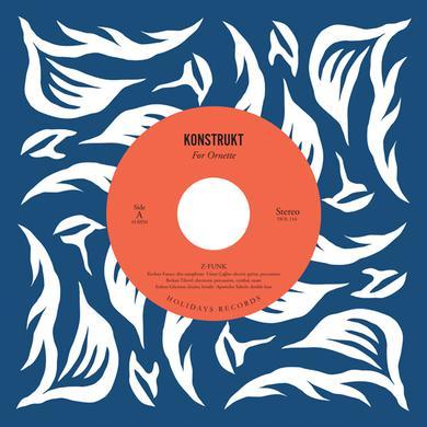 KONSTRUKT FOR ORNETTE Vinyl Record