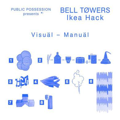 Bell Towers IKEA HACK Vinyl Record