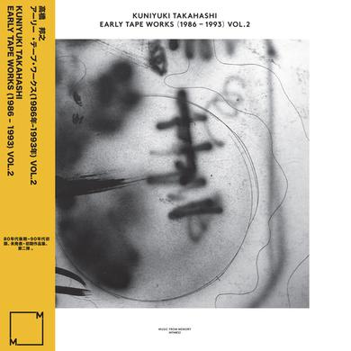 Kuniyuki Takahashi EARLY TAPE WORKS (1986-1993) VOL. 2 Vinyl Record