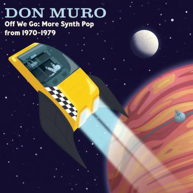 Don Muro OFF WE GO: MORE SYNTH POP FROM 1970-1979 Vinyl Record - Blue Vinyl