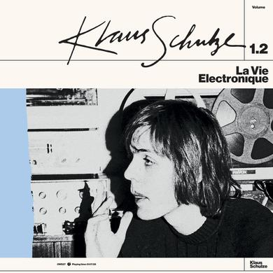 Klaus Schulze LA VIE ELECTRONIQUE VOLUME 1.2 Vinyl Record