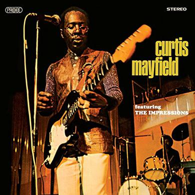 CURTIS MAYFIELD FEATURING THE IMPRESSIONS Vinyl Record