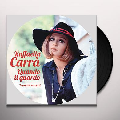 Raffaella Carra QUANDO TI GUARDO Vinyl Record