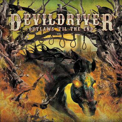 Devildriver OUTLAWS 'TIL THE END 1 Vinyl Record