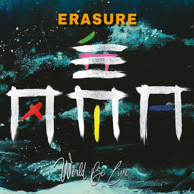 Erasure WORLD BE LIVE Vinyl Record