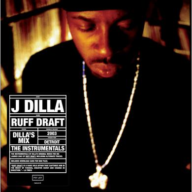 J Dilla DILLA'S MIX THE INSTRUMENTALS Vinyl Record