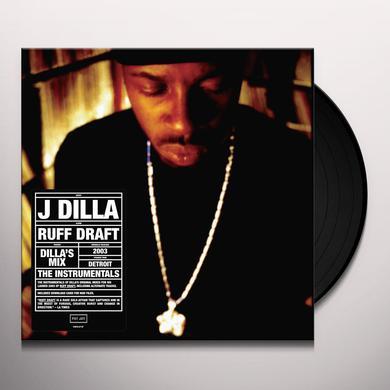 J Dilla DILLA'S MIX THE INSTRUMENTALS Vinyl Record