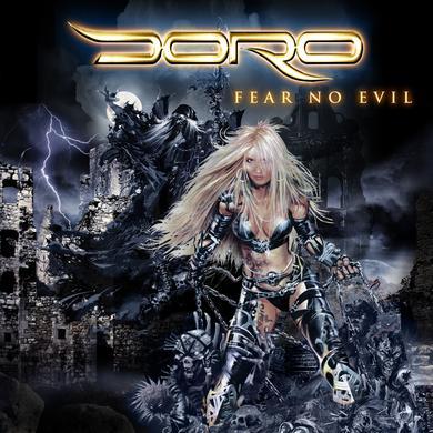 Doro FEAR NO EVIL Vinyl Record
