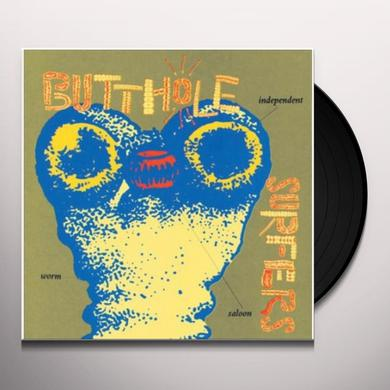 Butthole Surfers INDEPENDENT WORM SALOON Vinyl Record