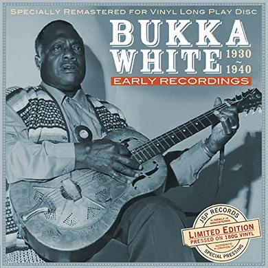 Bukka White EARLY RECORDINGS 1930-1940 Vinyl Record