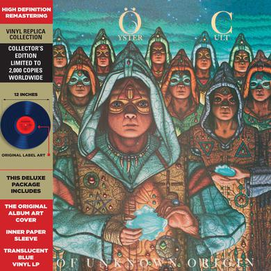 Blue Oyster Cult FIRE OF UNKNOWN ORIGIN Vinyl Record