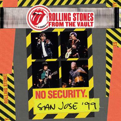 The Rolling Stones FROM THE VAULT: NO SECURITY SAN JOSE 99 Vinyl Record