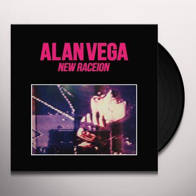 Alan Vega NEW RACEION Vinyl Record