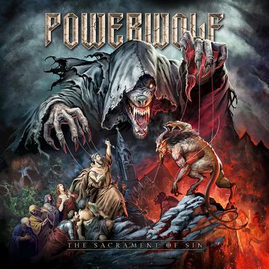 Powerwolf SACRAMENT OF SIN Vinyl Record