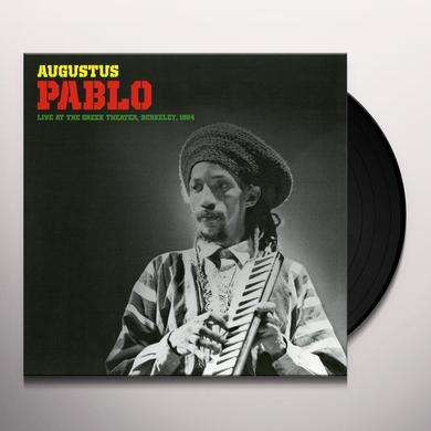 Augustus Pablo LIVE AT THE GREEK THEATER BERKELEY 1984 Vinyl Record