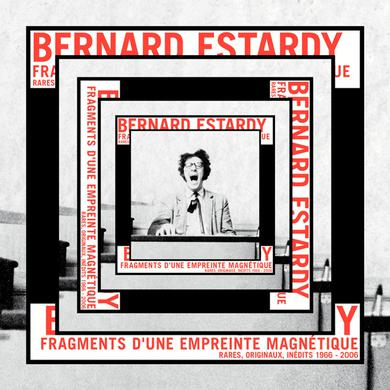 Bernard Estardy FRAGMENTS D'UNE EMPREINTE MAGNETIQUE Vinyl Record