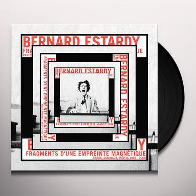 Bernard Estardy FRAGMENTS D'UNE EMPREINTE MAGNETIQUE Vinyl Record