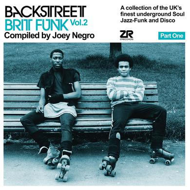 Joey Negro BACKSTREET BRIT FUNK 2 (PART ONE) Vinyl Record