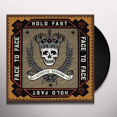 Face To Face HOLD FAST (ACOUSTIC SESSIONS) Vinyl Record