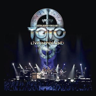 Toto 35TH ANNIVERSARY TOUR: LIVE IN POLAND Vinyl Record