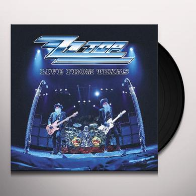 ZZ Top LIVE FROM TEXAS Vinyl Record
