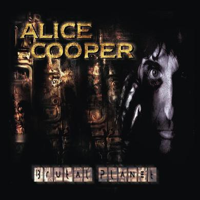Alice Cooper BRUTAL PLANET Vinyl Record