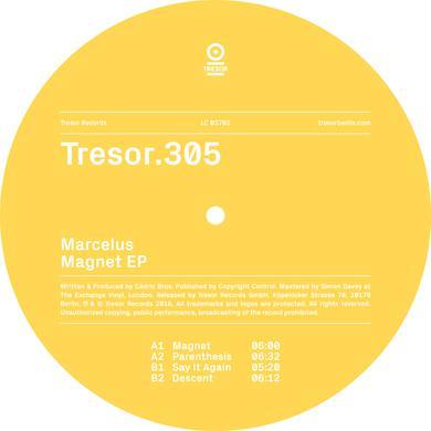 Marcelus MAGNET Vinyl Record