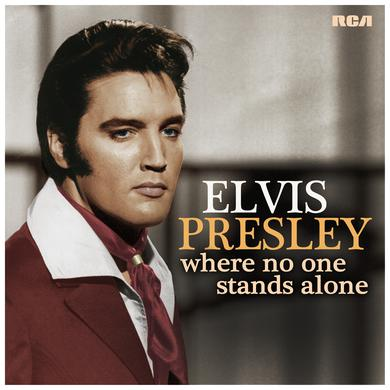 Elvis Presley WHERE NO ONE STANDS ALONE Vinyl Record