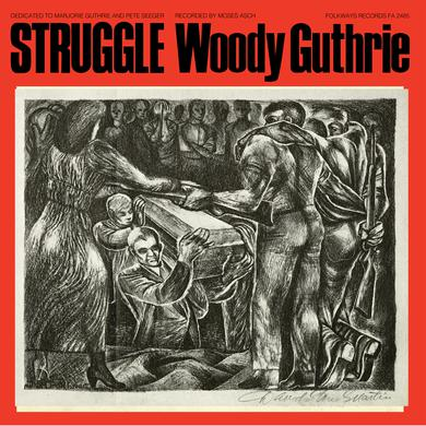 Woody Guthrie STRUGGLE Vinyl Record