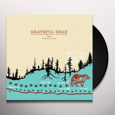 Grateful Dead PORTLAND MEMORIAL COLISEUM PORTLAND OR 5/19/74 Vinyl Record