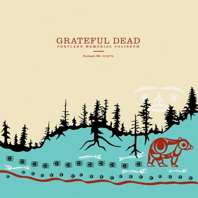 Grateful Dead PORTLAND MEMORIAL COLISEUM PORTLAND OR 5/19/74 Vinyl Record
