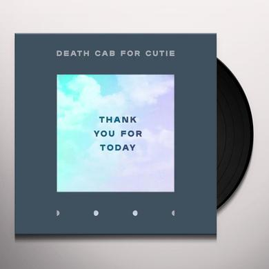 Death Cab For Cutie THANK YOU FOR TODAY Vinyl Record