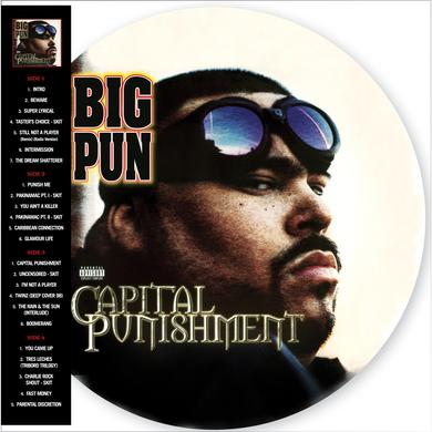 Big Pun CAPITAL PUNISHMENT (20TH ANNIVERSARY PICTURE DISC) Vinyl Record