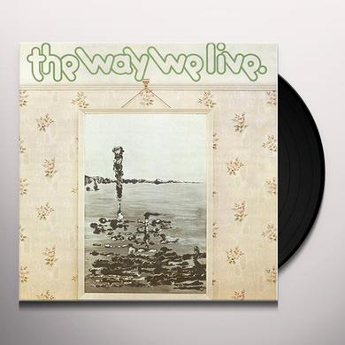 Tractor WAY WE LIVE - A CANDLE FOR JUDITH 2003 Vinyl Record
