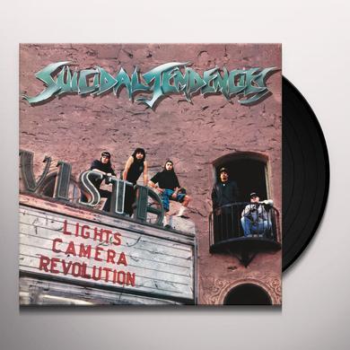 Suicidal Tendencies LIGHTS CAMERA REVOLUTION Vinyl Record