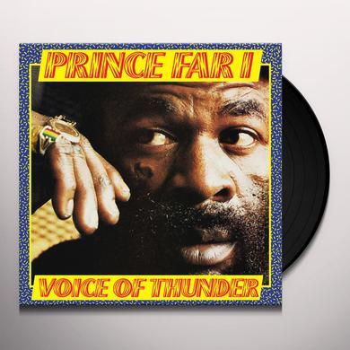 Prince Far I VOICE OF THUNDER Vinyl Record