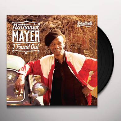Nathaniel Mayer I FOUND OUT Vinyl Record